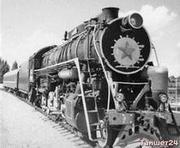 На таком паровозе Альберт Дементиюк тащил первый пассажирский состав