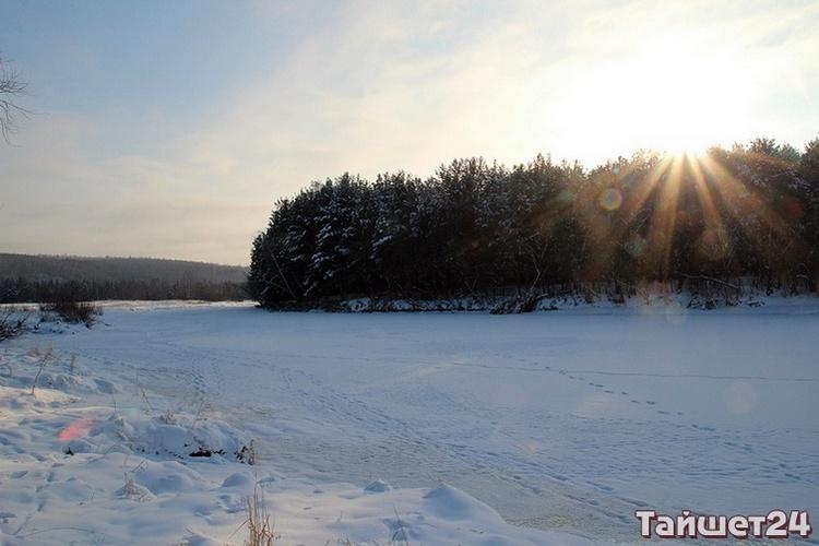 Зима, мороз и деревня Борисово…