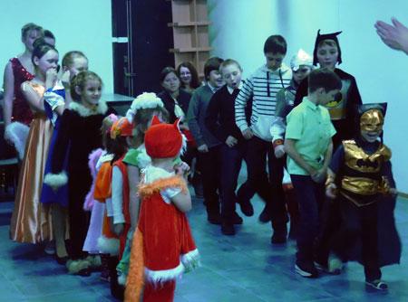 Центр помощи семье и детям провёл новогодний вечер