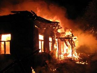 В пожаре на станции Акульшет погиб 54-летний мужчина