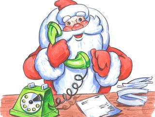 Жители Тайшета могут позвонить Деду Морозу