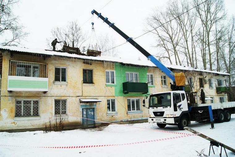 В Тайшете приступили к капитальному ремонту многоквартирных домов