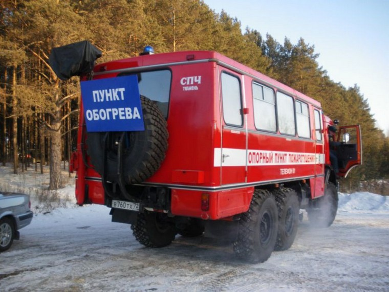 В посёлке Квиток действует пункт обогрева автомобилей