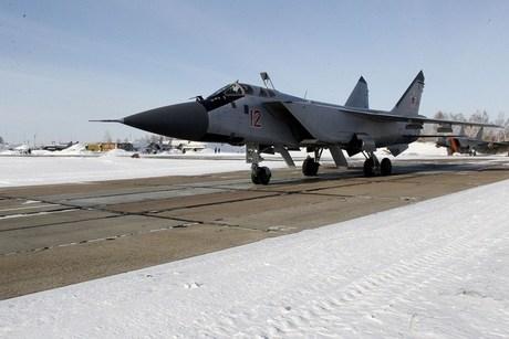 Возле Канска разбился истребитель МиГ-31