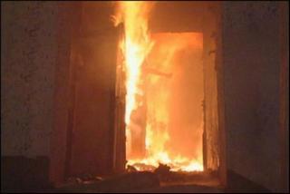 Нетрезвый житель Нижнеудинска погиб в огне в собственной квартире