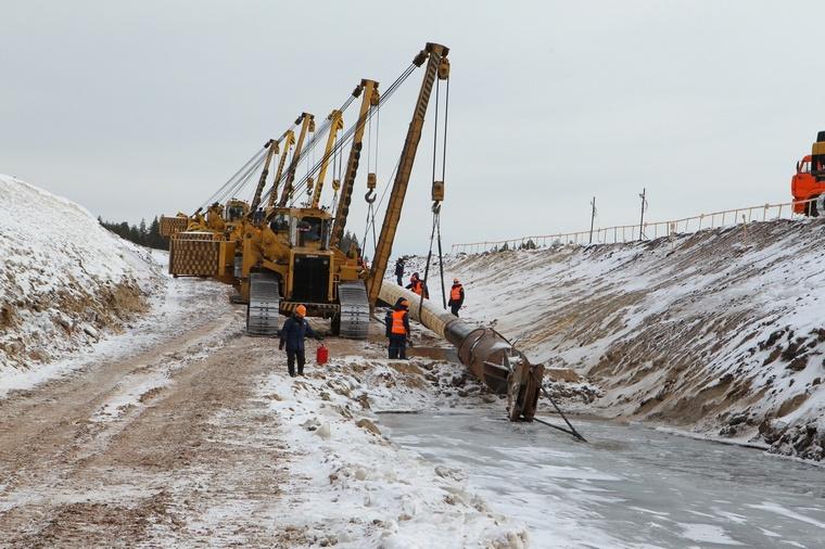 Строительство нефтепровода Куюмба-Тайшет будет завершено в 2023 году