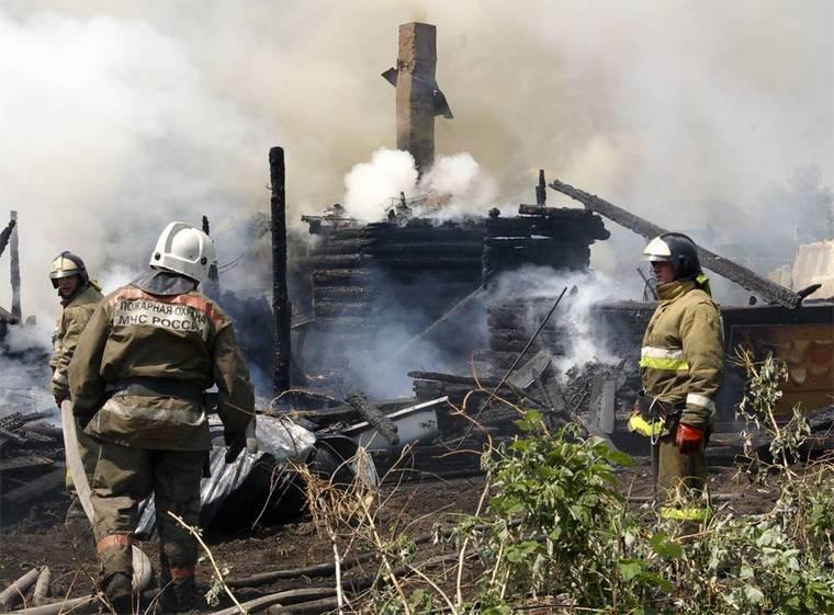 За год на пожарах в Тайшетском районе погибли 12 человек