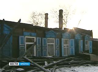 Пять семей остались без жилья после пожара в Иркутске