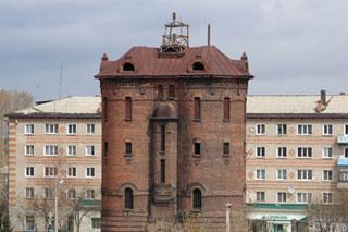 Тайшетцы назвали водонапорную башню символом города