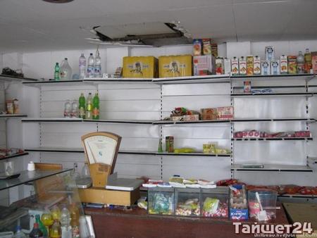 Пятеро тайшетцев обворовали магазин в посёлке Соляная