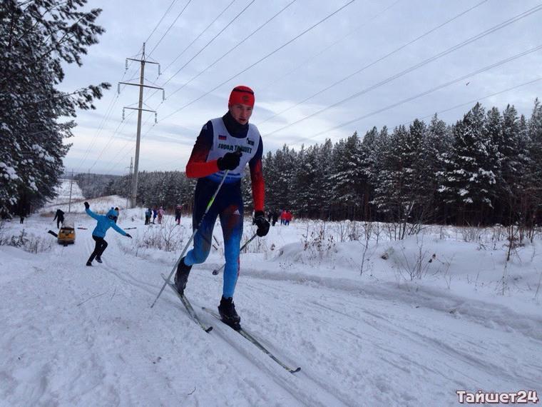 Тайшетцы приняли участие в первенстве Сибири по лыжным гонкам