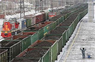 Три вагона с углём слетели с рельсов на Красноярской железной дороге, не доехав до Тайшета
