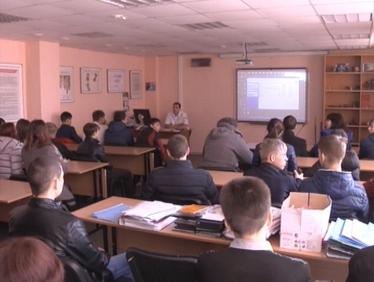 Школьникам Тайшета рассказали о железнодорожных профессиях