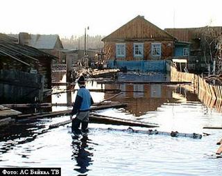 18 деревень Тайшетского района под угрозой подтопления