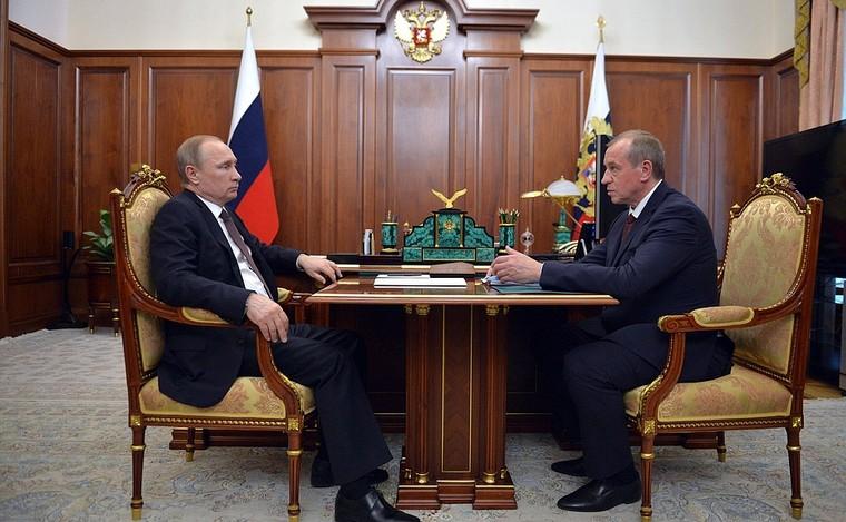 Левченко и Путин: стенограмма встречи