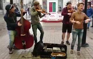 Музыкальная импровизация про Владимира Путина собрала более 700 000 просмотров