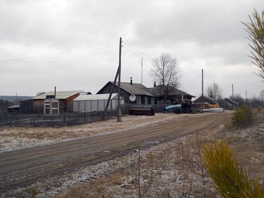 В Георгиевке осталось меньше десяти домов и всего 12 жителей.