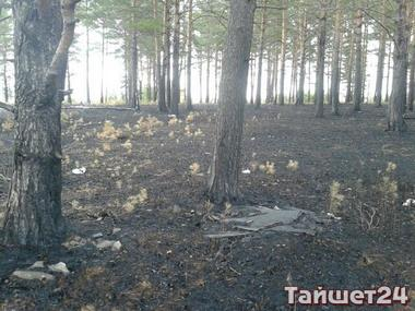 Последствия и разборки после пожара на окраине Тайшета