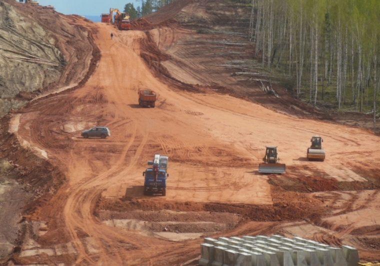 Строительство автодороги Тайшет–Чуна–Братск ведется с соблюдением сроков