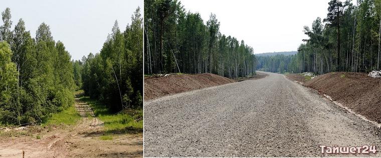 Строительство автодороги Тайшет-Чуна-Братск. Фоторепортаж
