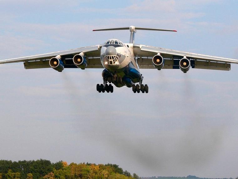 Что известно об Ил-76 спустя 10 часов после пропажи (видео)