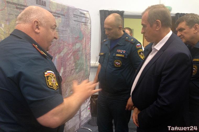 Предполагаемое место падения Ил-76 в Иркутской области окружено сопками высотой 1,5 км, заявил Левченко