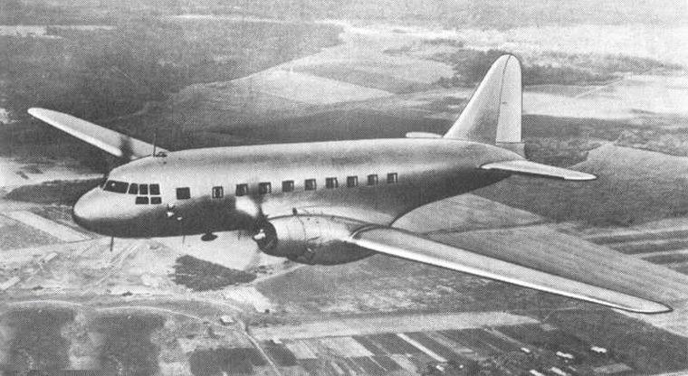 Самолёт ИЛ-12