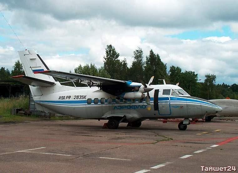 Самолёт Л-410.