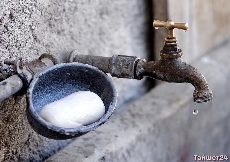Чуна на неделю осталась без воды