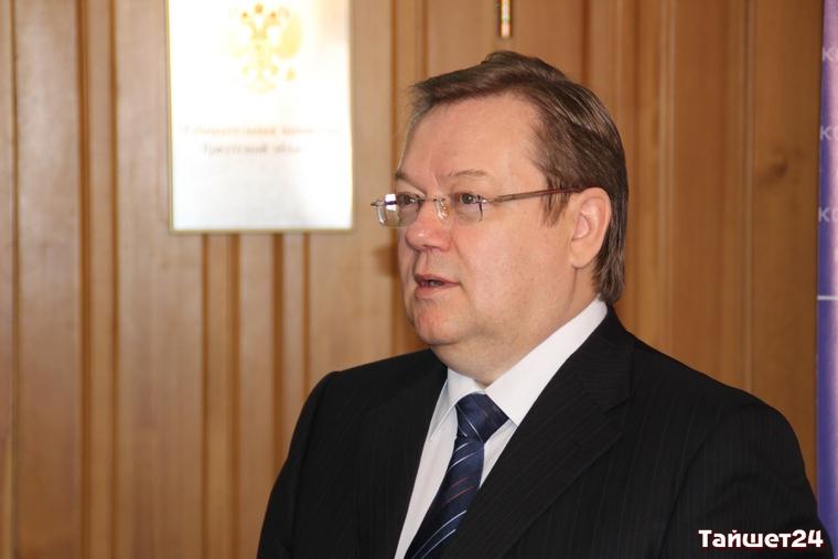 Первый заместитель губернатора Виктор Игнатенко ушёл со своего поста