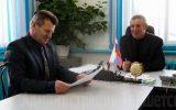 Мэр Тайшетского района Александр Величко с рабочим визитом посетил Соляновское МО