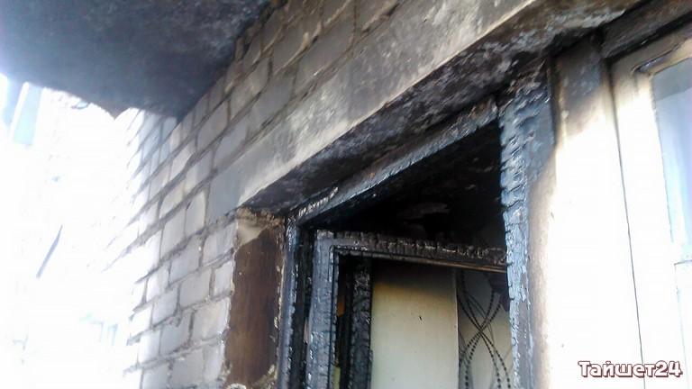 ВТайшете пожарные спасли изогня двоих детей