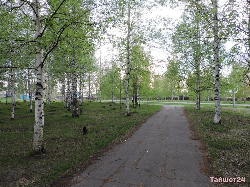 Уютный парк в м-не Пахотищева