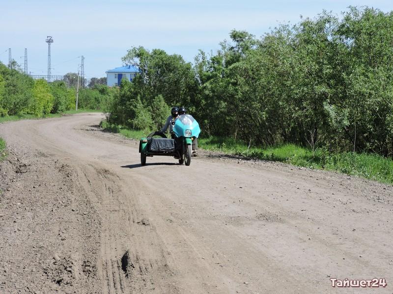 Мотоциклы на улицах Тайшета стали таким же редким явлением, как честные чиновники
