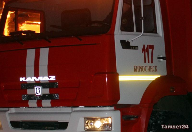 ВБирюсинске напожаре погибла 80-летняя женщина