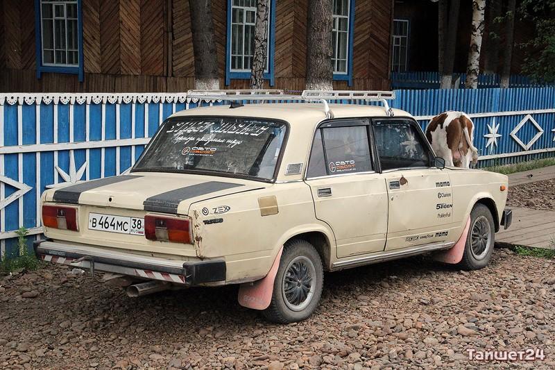 Будничный автомобиль главы Бузыкановского муниципального образования. Для выходных и праздничных дней у него есть машинка чуть-чуть поживее.