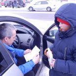 В Тайшете инспекторы ГИБДД вместе со школьниками провели акцию «Недобросовестный водитель»