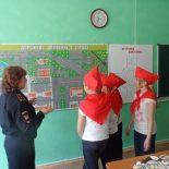 В Тайшете сотрудники ГИБДД и образования провели конкурс юных инспекторов движения «Безопасное колесо»