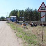 Пьяную аварию чуть не устроил на переезде Тайшет-Бирюсинск водитель «Тойоты»