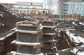 Строительство многофункционального физкультурно-оздоровительного комплекса в Тайшете идёт полным ходом