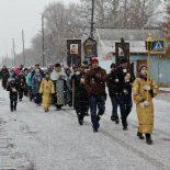 В Тайшетском благочинии состоялся Крестный ход к старинному Покровскому храму