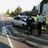Отечественный автомобиль и иномарка не поделили перекрёсток в Тайшете