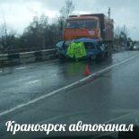 В Красноярском крае под колесами КАМАЗа погиб 90-летний водитель «Оки»