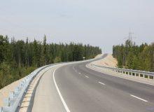 В Тайшетском районе отремонтировали 10 километров федеральной трассы