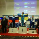 Жительница Бирюсинска выступила на Международных соревнованиях по классическому троеборью