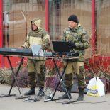Иркутские музыканты собирают в Тайшете средства в помощь инвалидам и ветеранам войн (фото, видео)