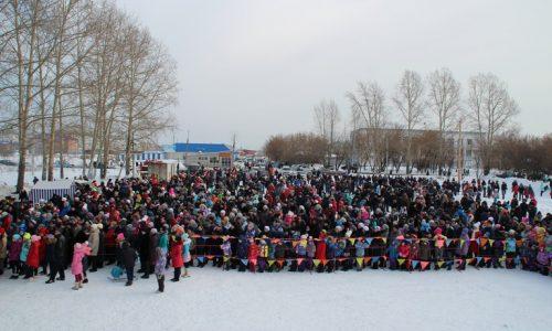 Тысячи тайшетцев отпраздновали Масленицу. Фоторепортаж