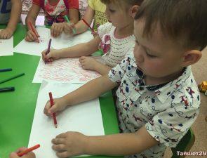 Уроки пожарной безопасности провели для ребят в детском саду «Рябинка» в Тайшете