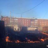 Тайшет активно полыхает даже в особый противопожарный период