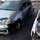 Два автомобиля сгорели сегодня ночью в Тайшете